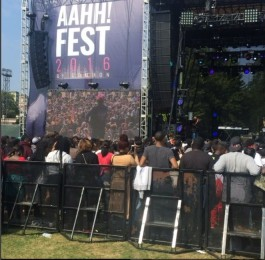 2016 AAHA FEST_STAGE PIC